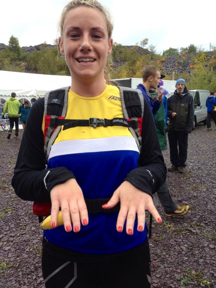 Laura fell relays