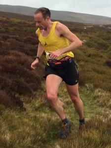 Jon Bowie - Winner of 2016 Llantysilo Mountain Fell Race